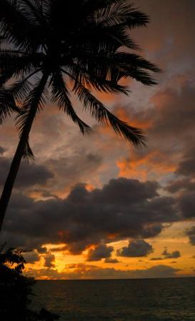 Casitas Maraika: sunset