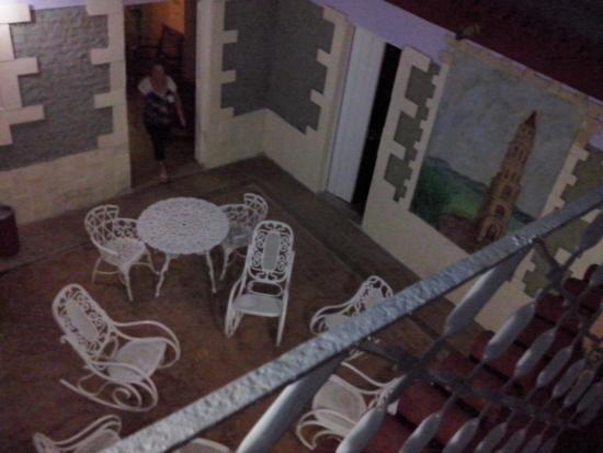La zona comune vista dal terrazzo - Picture of Casa Nancy Ortega ...