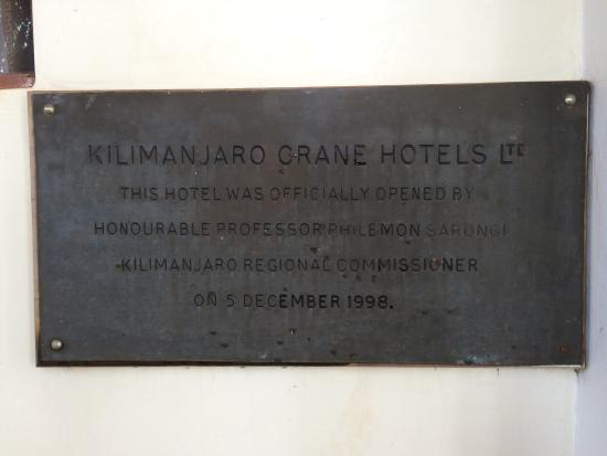 Kilimanjaro Crane Hotels & Safaris ภาพถ่าย