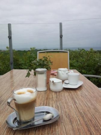 Bastorf, Alemania: ...der Kaffee