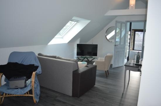 le coin t l photo de manoir des eperviers queven tripadvisor. Black Bedroom Furniture Sets. Home Design Ideas