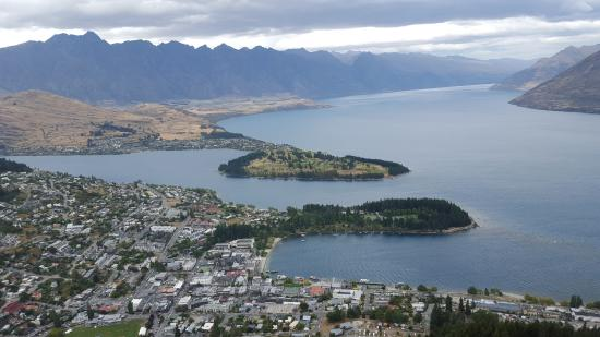 Queenstown from the top