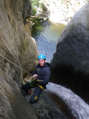 Caudies de Fenouilledes, Francia: canyon anelles ceret