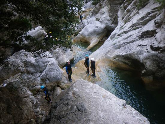 Caudies de Fenouilledes, Francia: canyon galamus