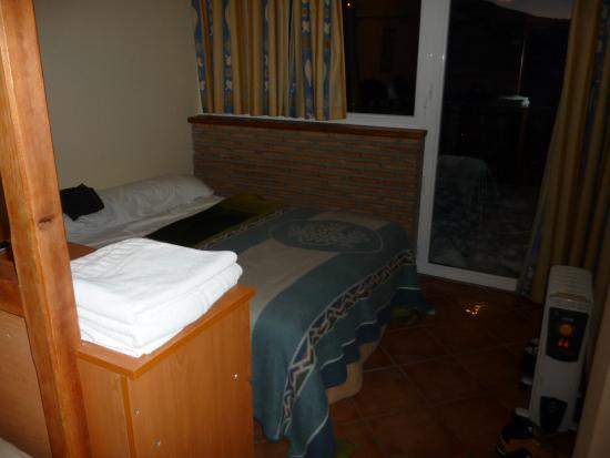 Hostal El Duende Blanco: Chambre