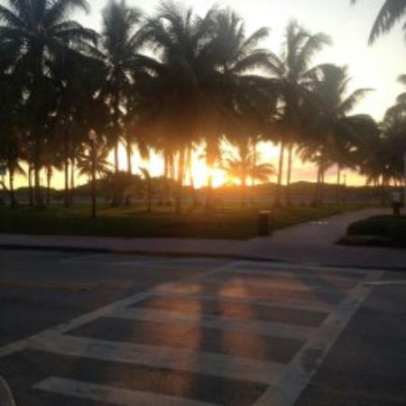 Winter Haven, Autograph Collection: From the dining terrace overlooking the beach. Sunrise.