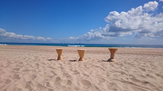 "Strand an der ""Bay View Lodge"""