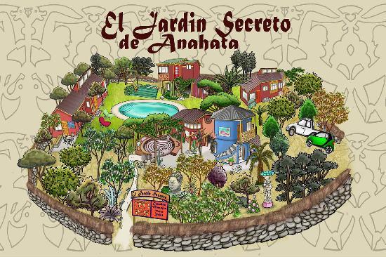 El jardin secreto desde pisco elqui chile for El jardin secreto precios