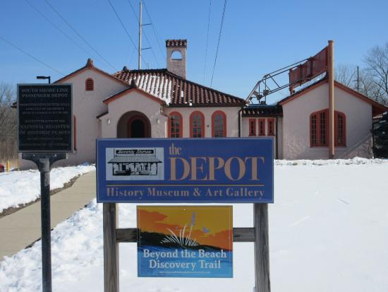 Beverly Shores, IN: the depot