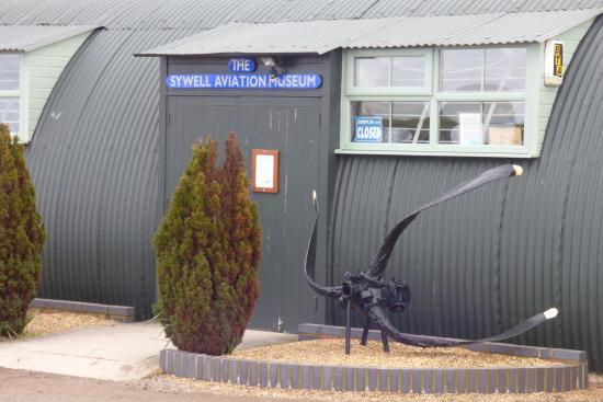 Sywell, UK: ENTRANCE