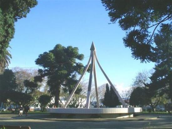 Canete, Chile: Fuente plaza Cañete