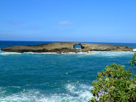 Laie Point State View From Beach House Huge Rock Missing Arch