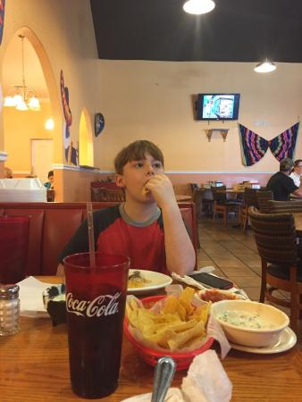 Pericos Mexican Restaurant : We were quite pleased with our dining experience