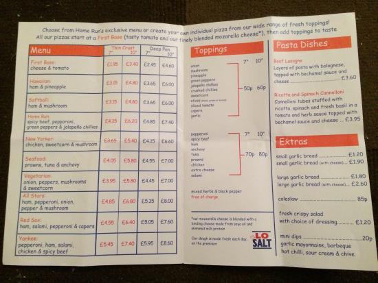 home run pizzas stockport restaurant reviews photos rh tripadvisor co uk