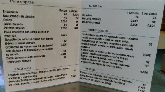 imagen Bar Zakeo en Laguna de Duero