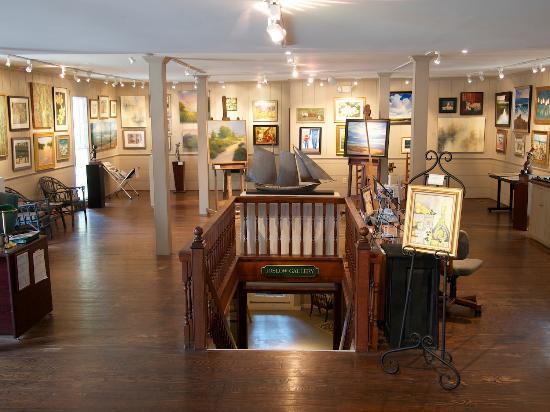 Maple & Main Gallery of Fine Art: Main Floor Gallery (Upper Level)