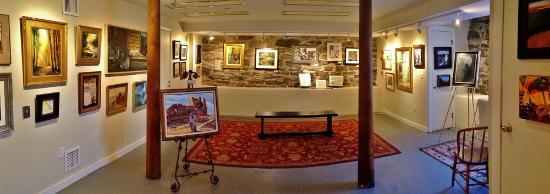 Maple & Main Gallery of Fine Art: Stone Gallery (Lower Level)