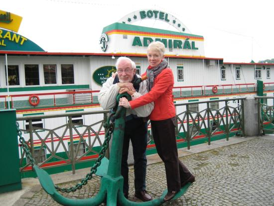 Botel Admiral: My in-laws having a great time.