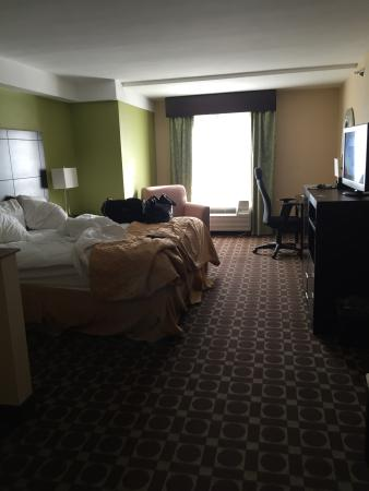 the view from my room picture of clarion inn suites virginia rh tripadvisor com
