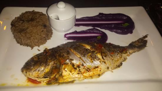 Court bouillon de poisson riz djon djon et pur e de - Court bouillon poisson maison ...