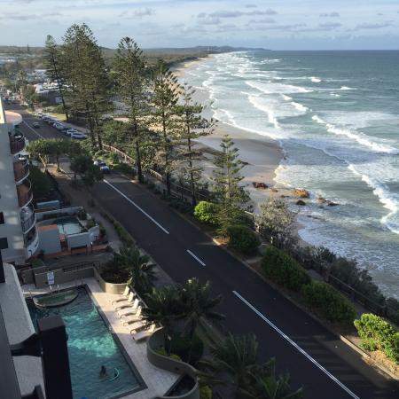 Coolum Beach, Avustralya: View from level 7