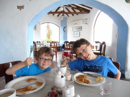 Mantaraya Lodge: Petit déjeuner