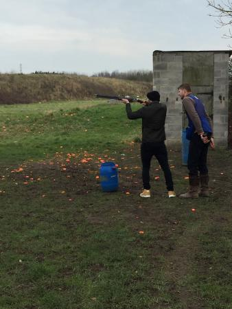 Edingale, UK: Garlands Shooting Ground