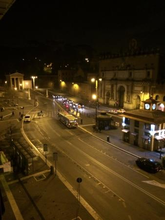 Casa Montani - Luxury Guest House: view from suite in evening