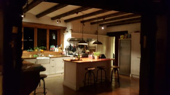 Manawa Ridge: the kitchen where Carla does her magic!