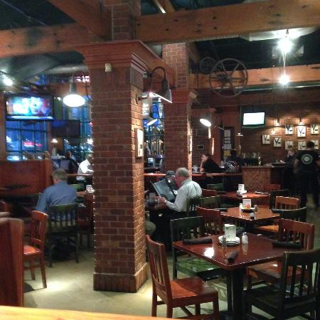 Hoppers Grill Dining Area On Previous Visit