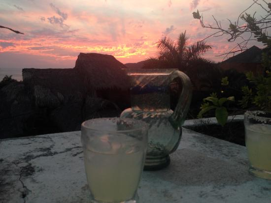 Casa Buenaventura : Sunsets are very fine, with a Margarita on the side