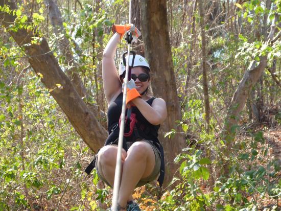 Canopy Mal Pais: Canopy tour