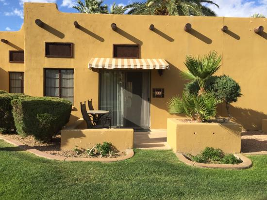 Litchfield Park, Αριζόνα: The Wigwam has been a very relaxing stay. We stayed in a one level room, wifi was great. Employe