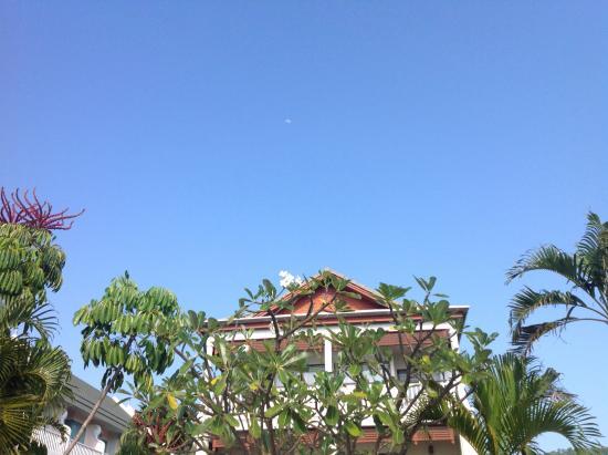 Karon Princess Hotel : Вид с площадки