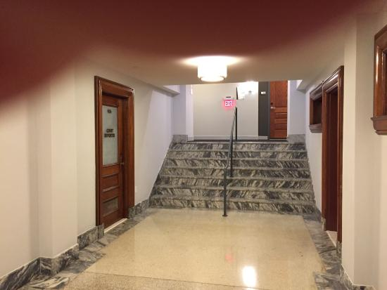 our room at top of stairs notice court reporter room on the left rh tripadvisor com