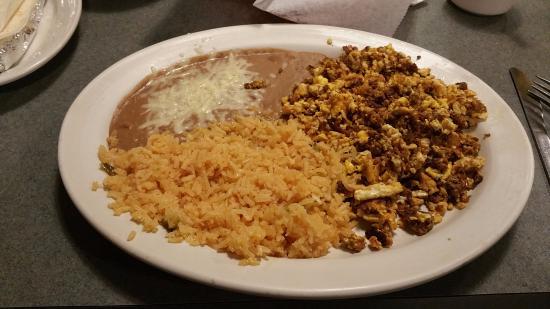 My Huevos con Chorizo at Fiesta Ranchera - Picture of ...