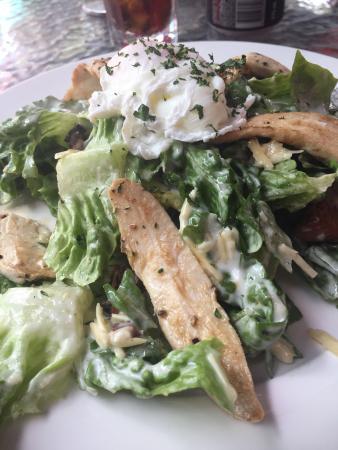 Red Dog: Chicken Caesar salad - quick service. Good fresh salad. Nice and simple.