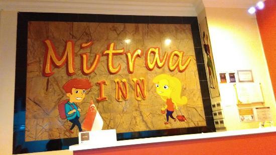 Mitraa Inn: receptionist