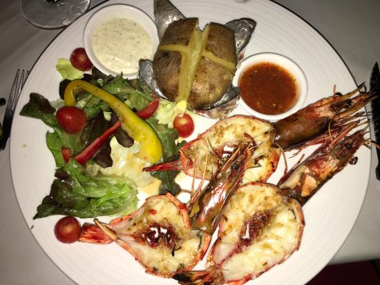 Whitening Sairee: grilled shrimp