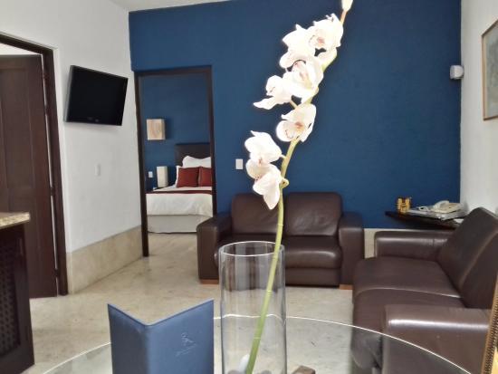 Suites & Spa Dona Urraca: Master Suite con sala.