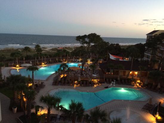 Omni Hilton Head Oceanfront Resort Ocean View
