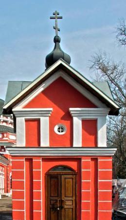 Часовня в Ивантеевке