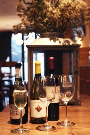 Luccio's wine selection