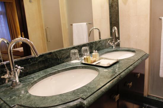 Twin Sink In Bathroom Picture Of Esplanade Zagreb Hotel Tripadvisor