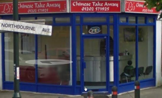 Li's Chinese Takeaway Northbourne