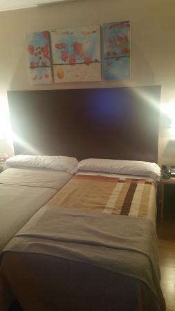 Hotel Ciudad de Sabinanigo: Habitación con cama doble