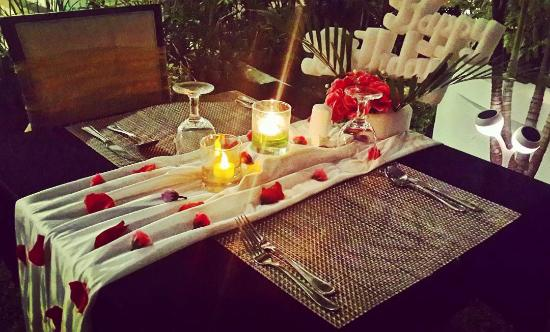 candle light dinner decoration picture of sky garden lounge rh tripadvisor com