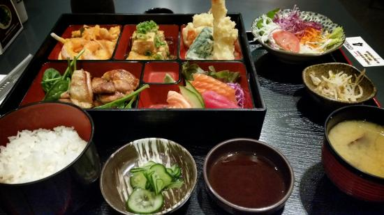 bento box picture of matsuri japanese restaurant perth tripadvisor. Black Bedroom Furniture Sets. Home Design Ideas