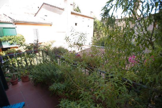 B&B Anastagi: terrazzo privato