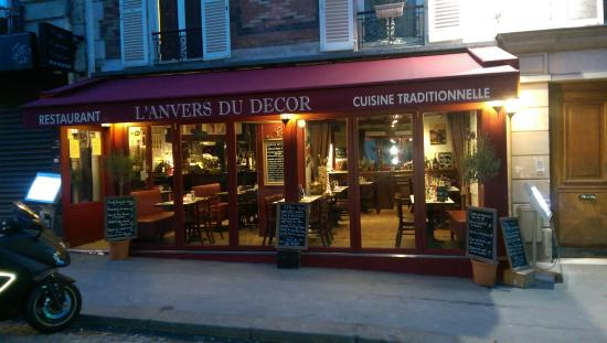 L anvers du decor paris montmartre restaurant reviews